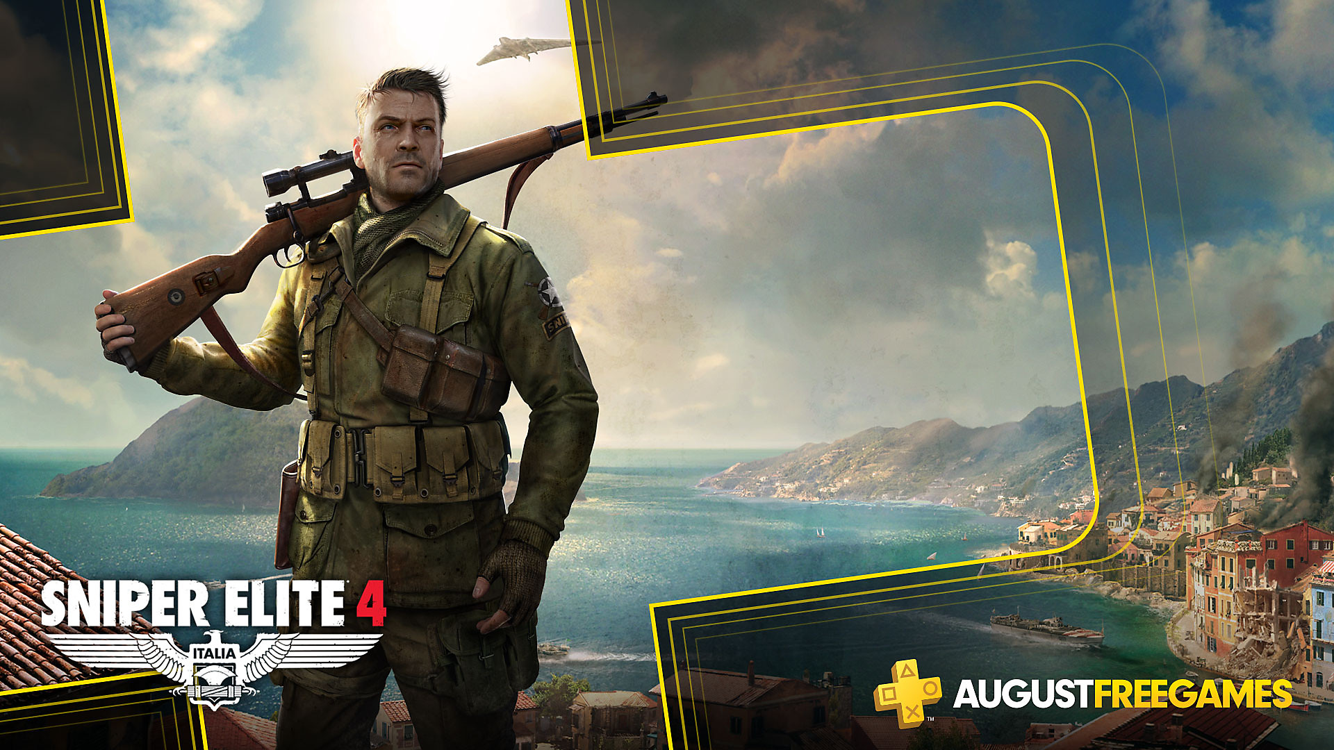 Click here to get Sniper Elite 4 free from the PlayStation Store for PlayStation Plus members