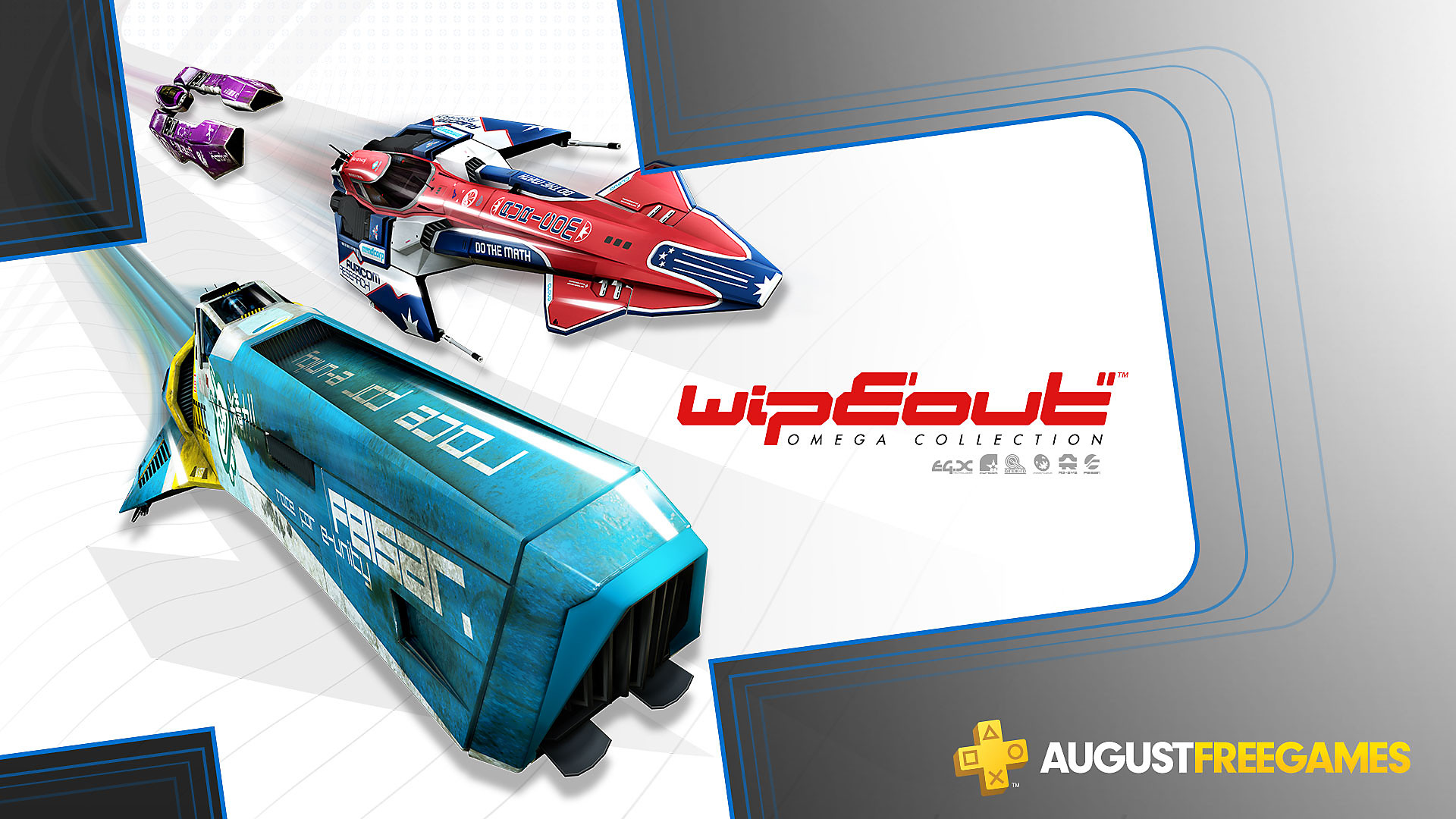 Click here to get Wipeout Omega Collection free from the PlayStation Store for PlayStation Plus members