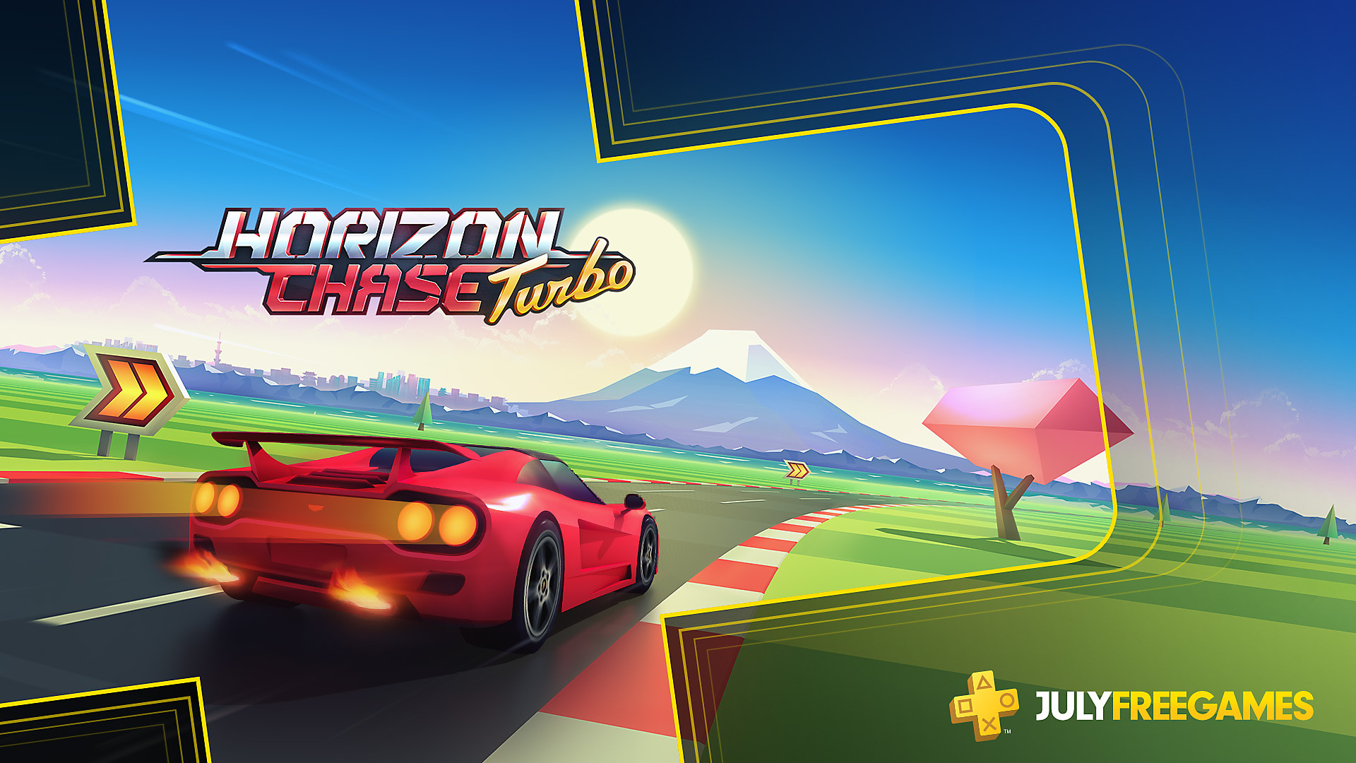 Click here to get Horizon Chase Turbo free from the PlayStation Store for PlayStation Plus members
