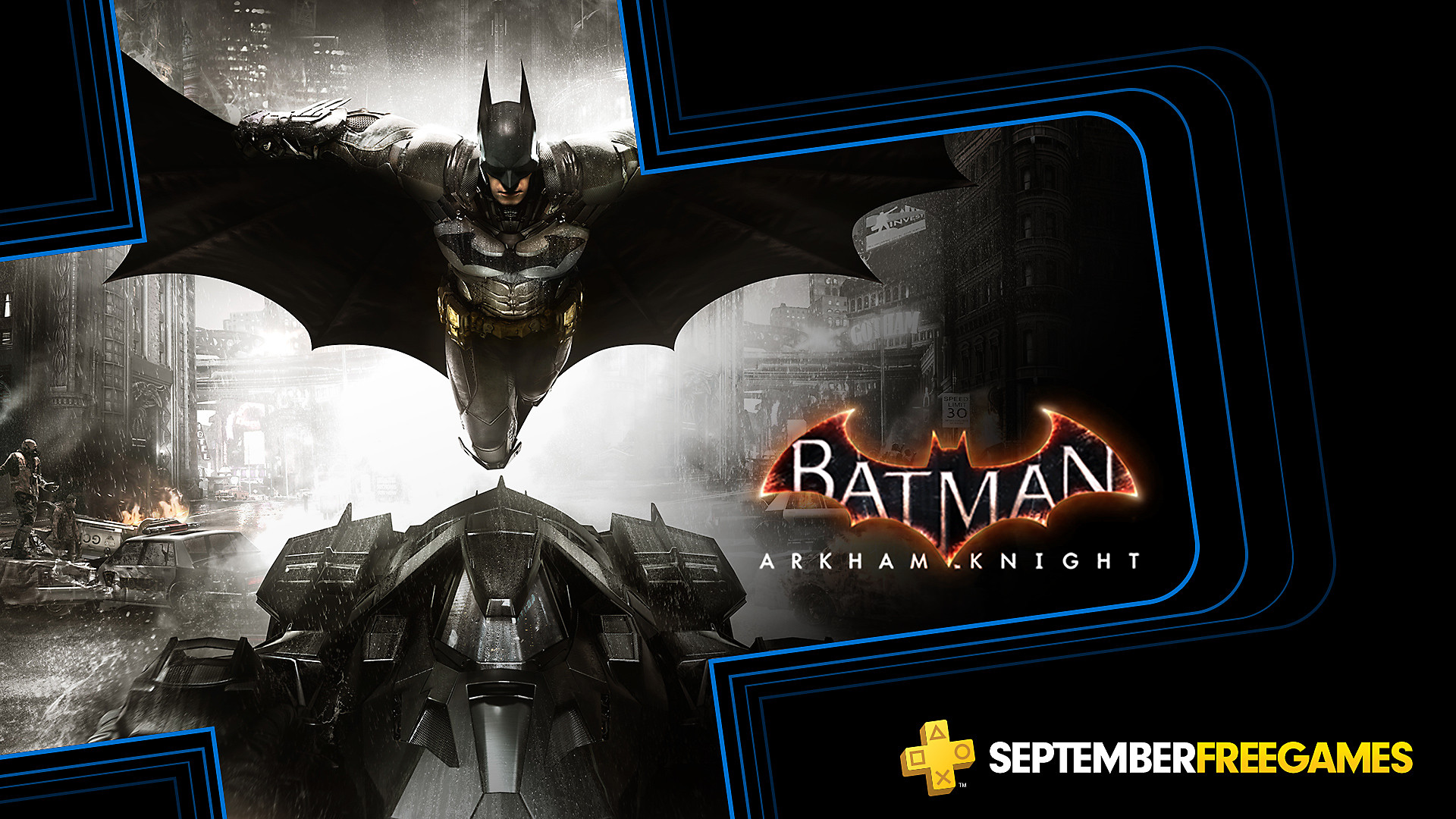 Click here to get Batman Arkham Knight free from the PlayStation Store for PlayStation Plus members