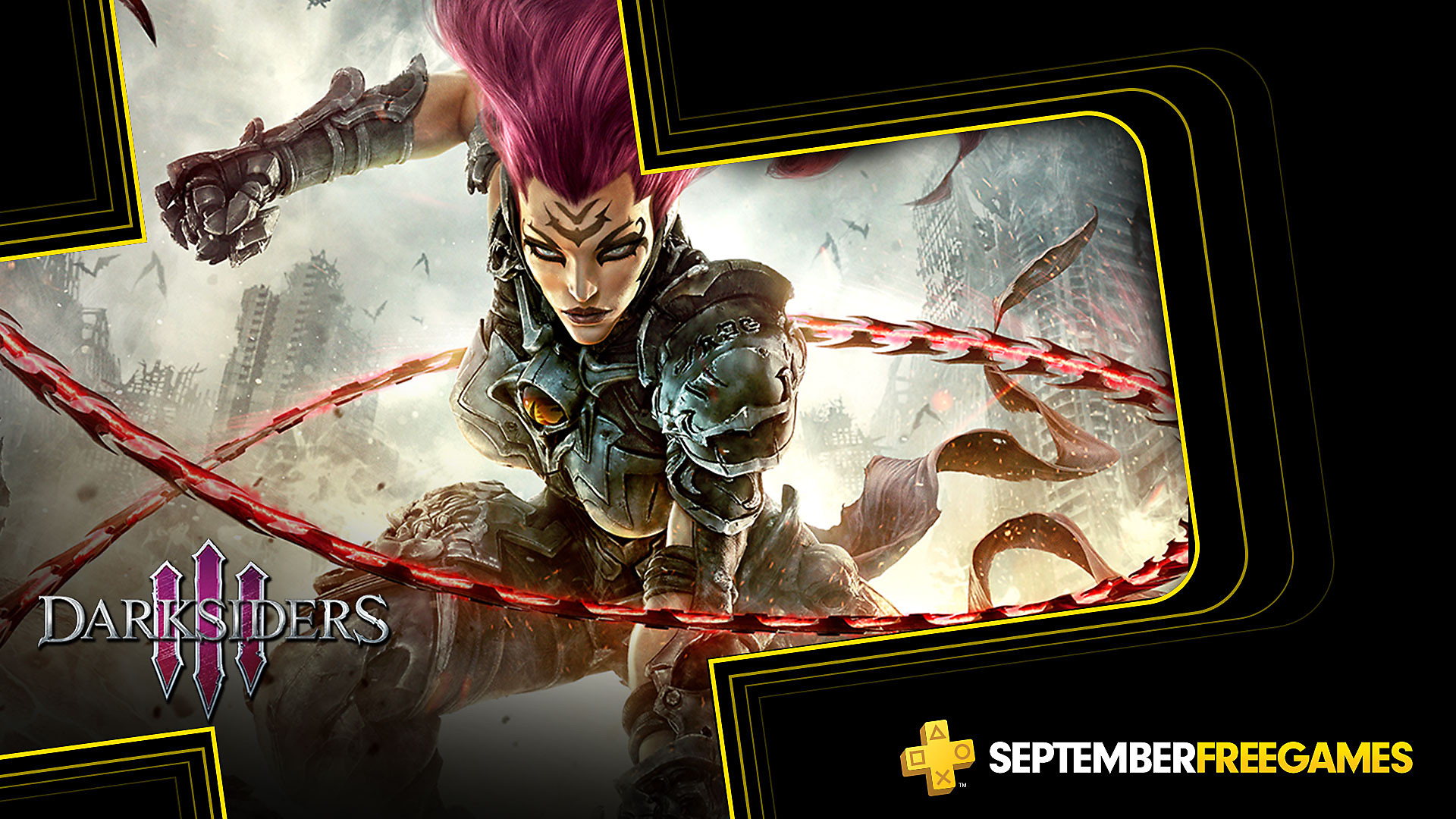 Click here to get Darksiders 3 free from the PlayStation Store for PlayStation Plus members