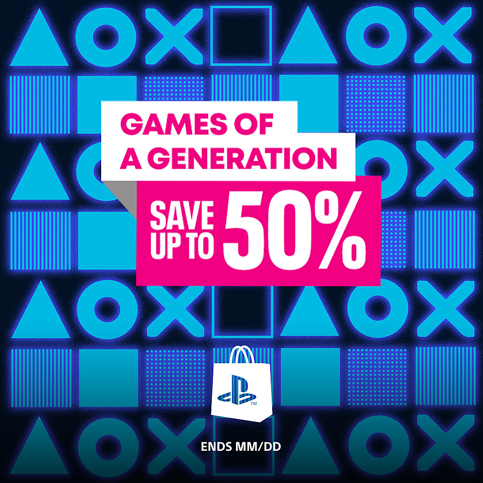 PlayStation Store - Games of a Generation Sale