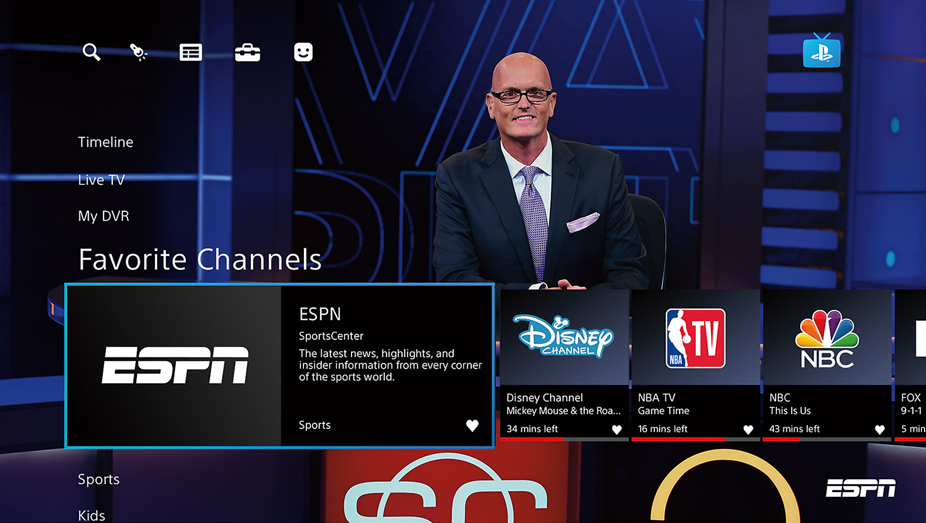 PlayStation Vue - Live TV Streaming