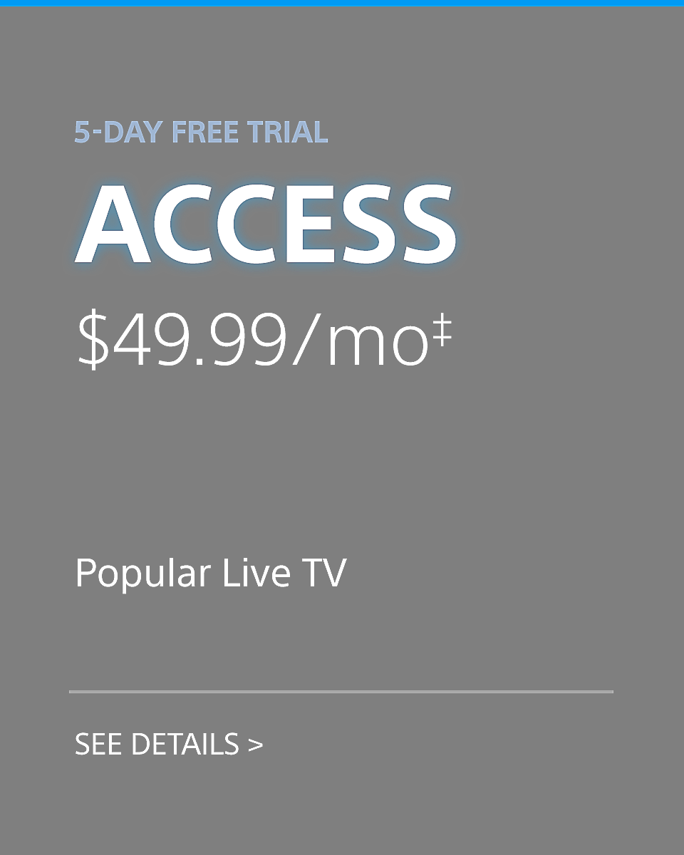 Playstation Vue - Access Plan