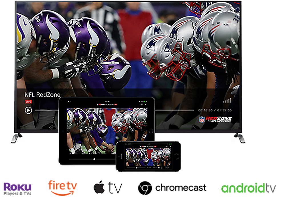 Roku, Amazon Fire TV, Apple TV, Chromecast, Android TV Live Streaming Devices Image