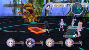 Hyperdimension Neptunia™ mk2 Screenshot 2