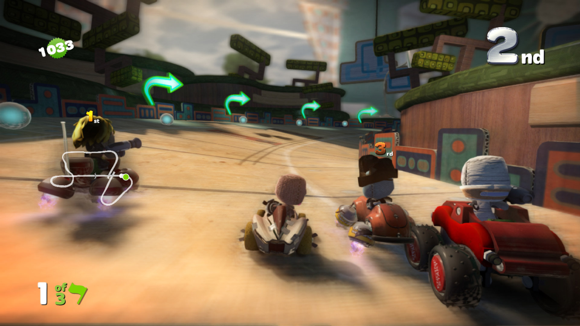 Resultado de imagen para LittleBigPlanet Karting