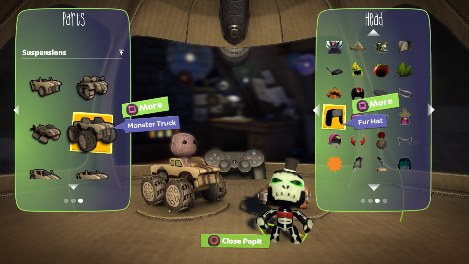 Littlebigplanet karting preview for playstation 3 (ps3) cheat.