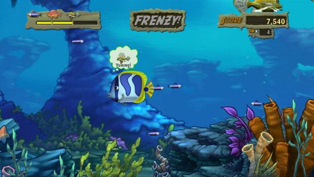 Feeding Frenzy™ 2: Shipwreck Showdown Screenshot 1