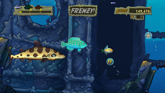 Feeding Frenzy™ 2: Shipwreck Showdown Screenshot 4