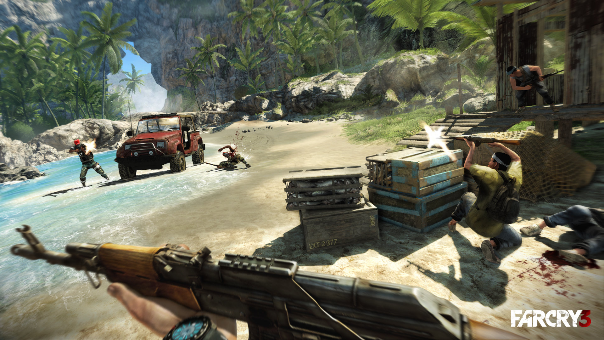 Far Cry 3 Game Ps3 Playstation