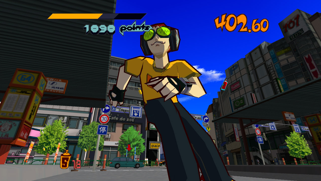 Jet Set Radio™ Game | PS3 - PlayStation