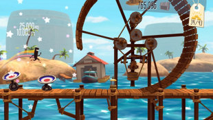 BIT.TRIP Presents... Runner2: Future Legend of Rhythm Alien Screenshot 3