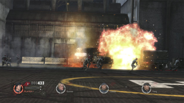 The Expendables 2 Videogame Screenshot 10