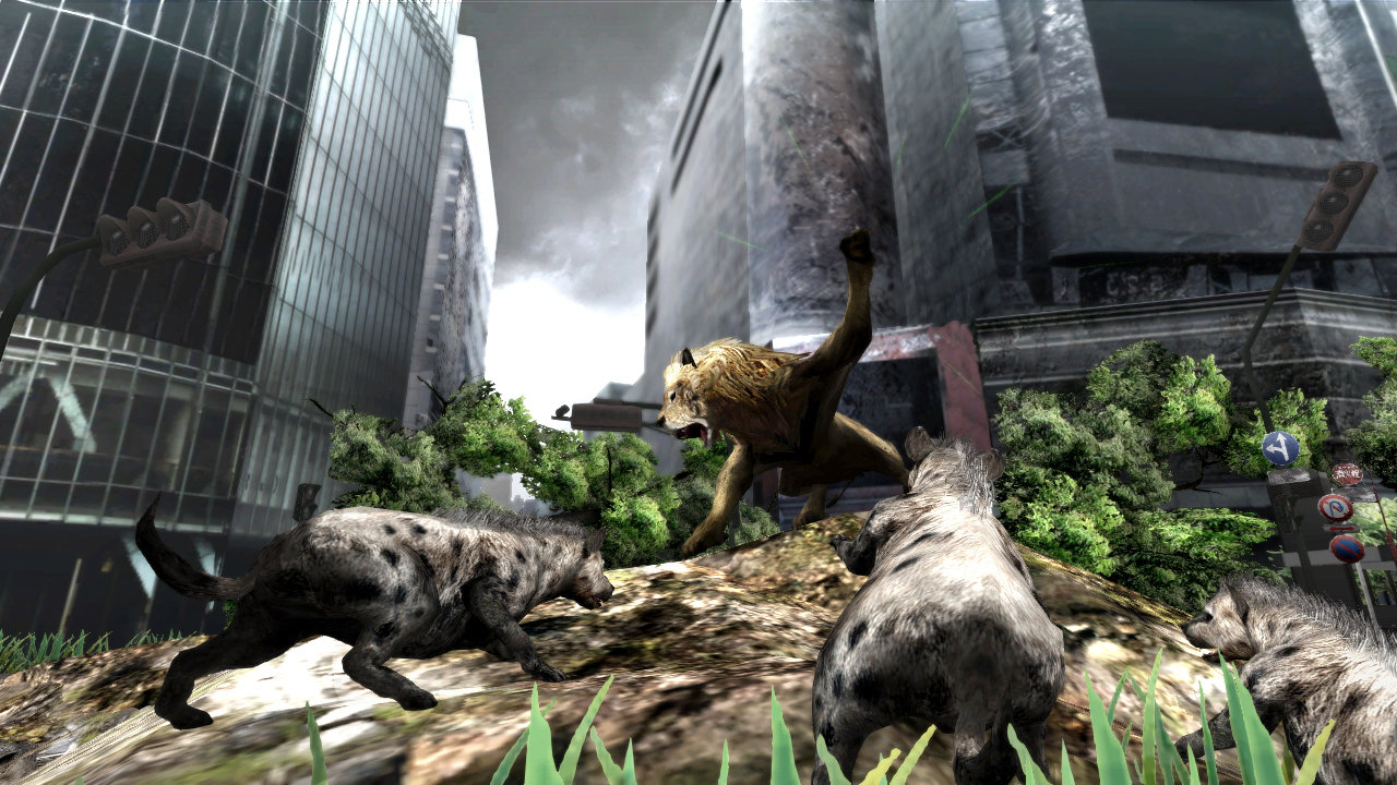 Image of: Tokyo Jungle See It In Action Playstation Tokyo Jungle Game Ps3 Playstation