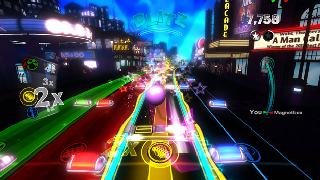 Rock Band™ Blitz Screenshot 1