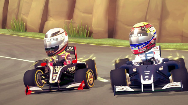 F1 Race Stars™  Screenshot 1