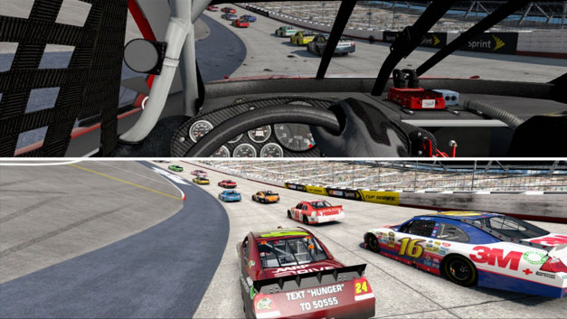 NASCAR THE GAME INSIDE LINE Screenshot 1
