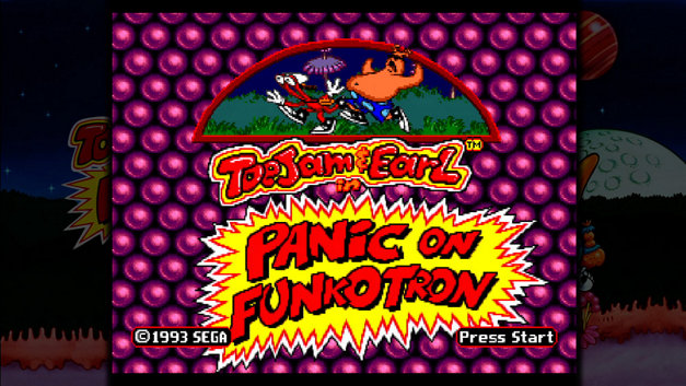 ToeJam & Earl in Panic on Funkotron Screenshot 1