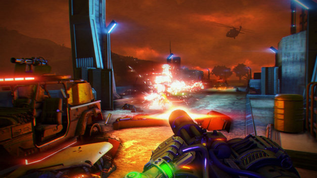 Far Cry® 3 Blood Dragon Screenshot 1