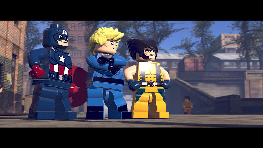 Lego Marvel Super Heroes Game Ps3 Playstation