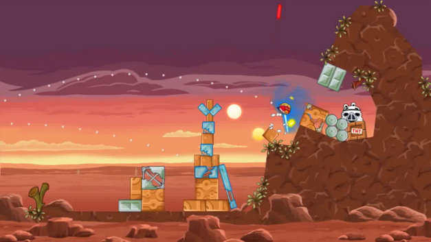 Angry Birds Star Wars Video Screenshot 1