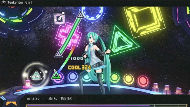 Hatsune Miku: Project DIVA F Screenshot 1