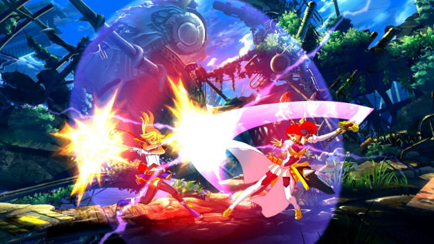 BlazBlue: Chrono Phantasma Screenshot 1