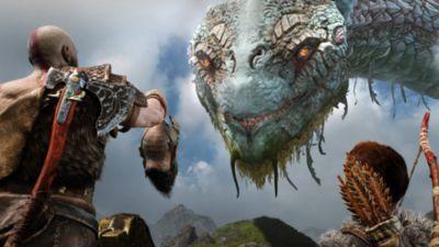 God of War screen - PS4