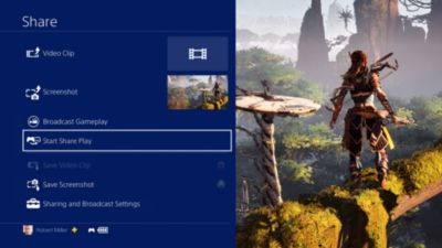 Screen Share - PS4