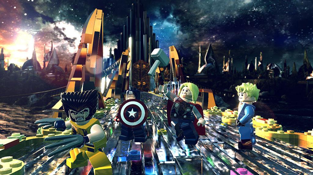 Lego Marvel Super Heroes Game Ps4 Playstation