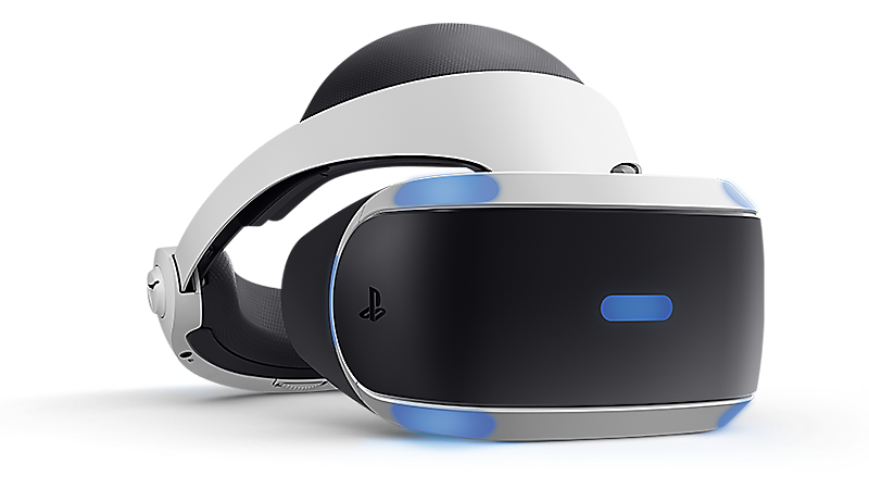PlayStation VR headset beauty shot