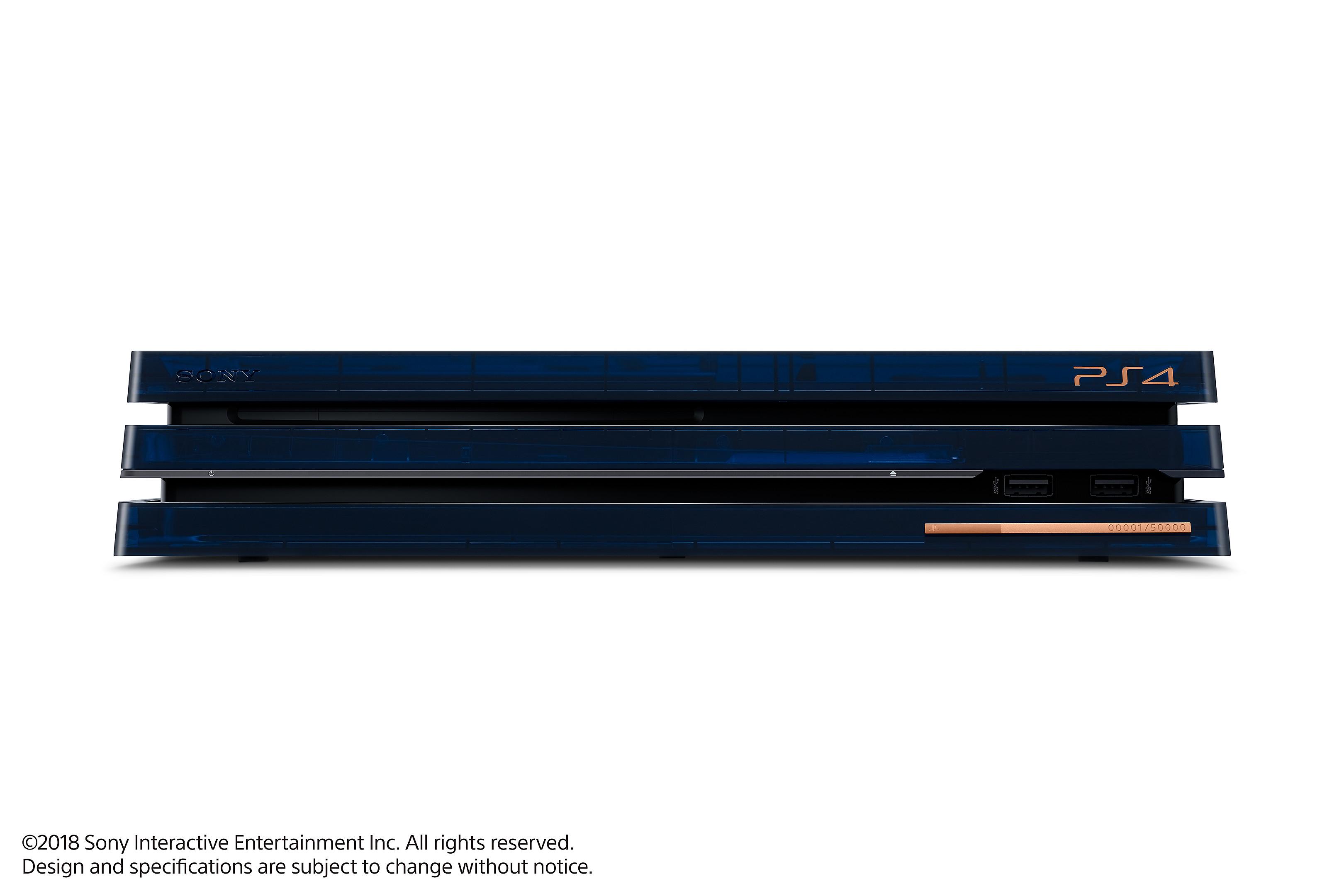 sony playstation 4 pro 2tb 500 million limited edition