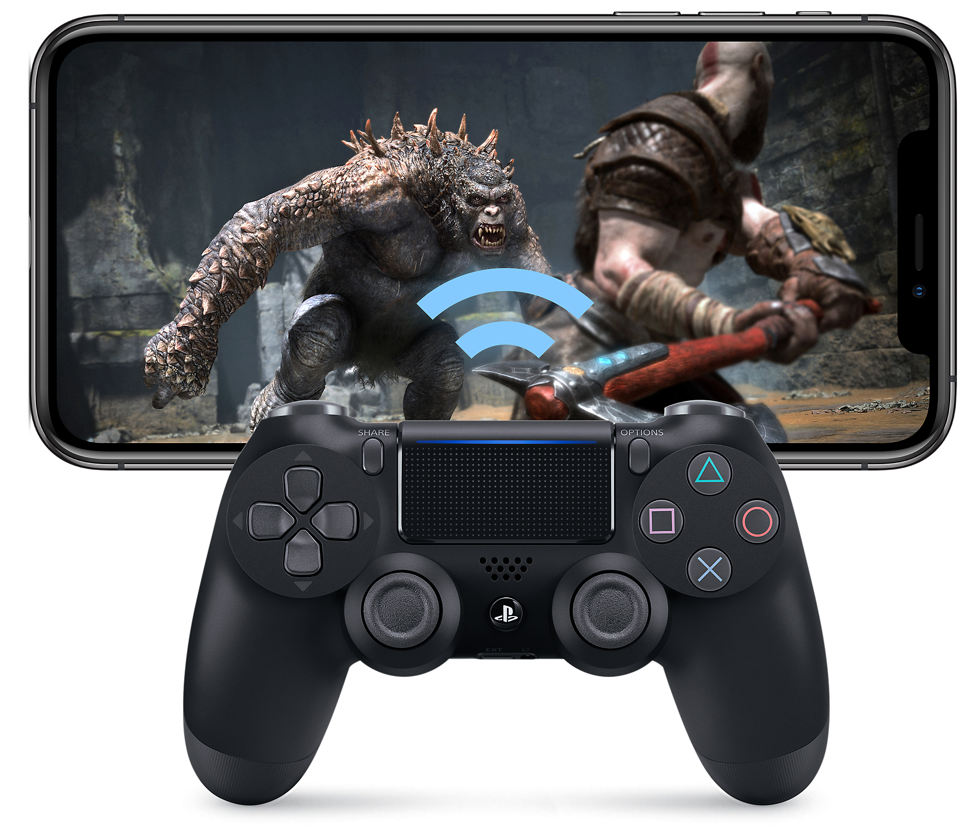 Remote Play - What is PS4 Remote Play iPhone Image