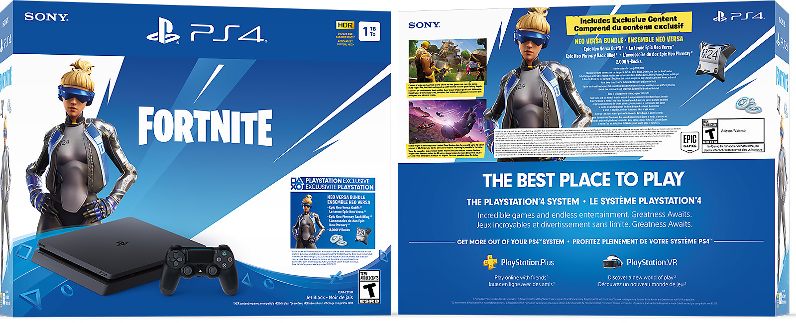 PS4 Fortnite hardware bundle