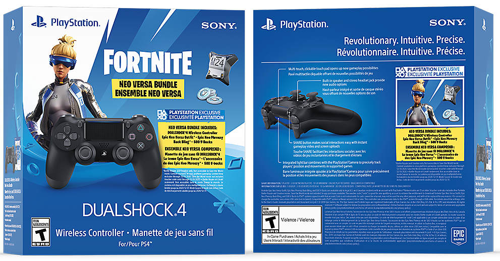DualShock 4 Fortnite Bundle