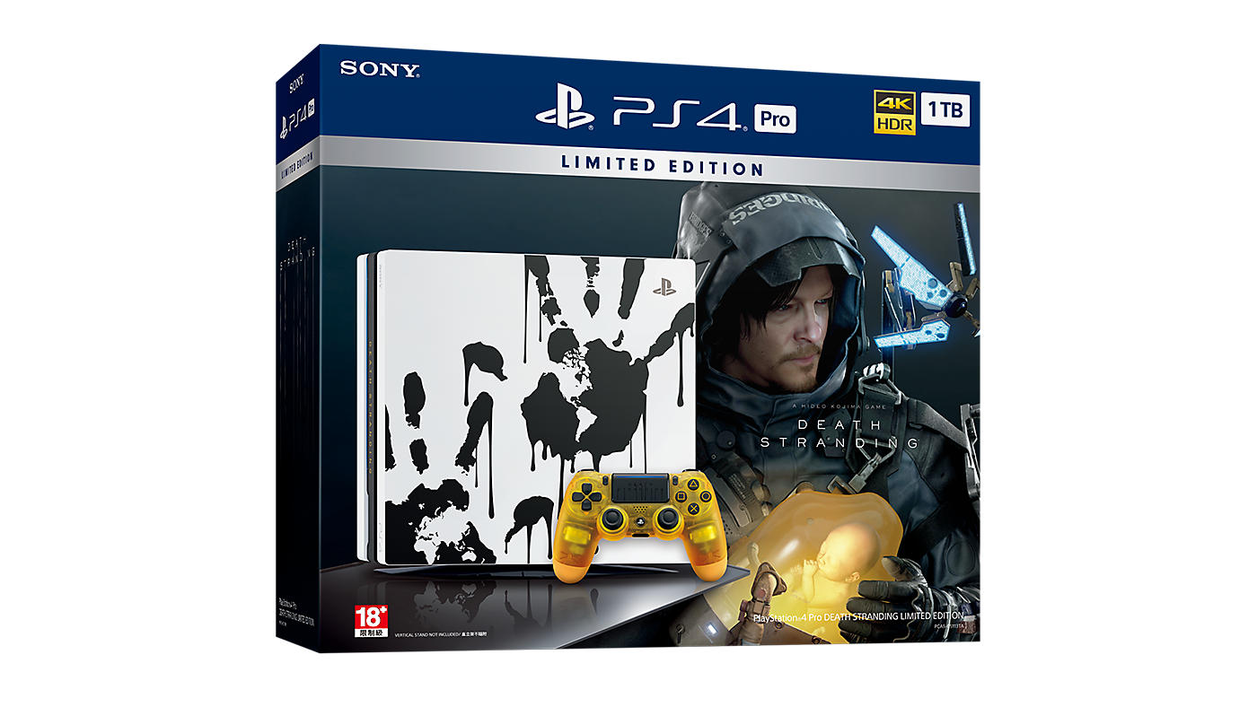 PlayStation®4 Pro DEATH STRANDING LIMITED EDITION