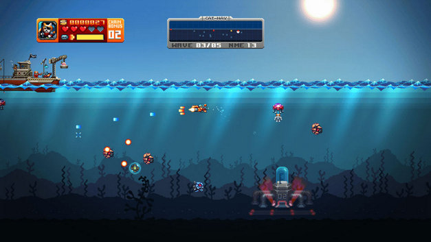 Aqua Kitty - Milk Mine Defender Screenshot 1