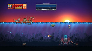 Aqua Kitty - Milk Mine Defender Screenshot 2
