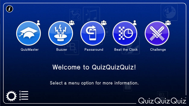 QuizQuizQuiz Screenshot 1