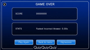 QuizQuizQuiz Screenshot 5