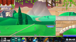 Lemmings Screenshot 2