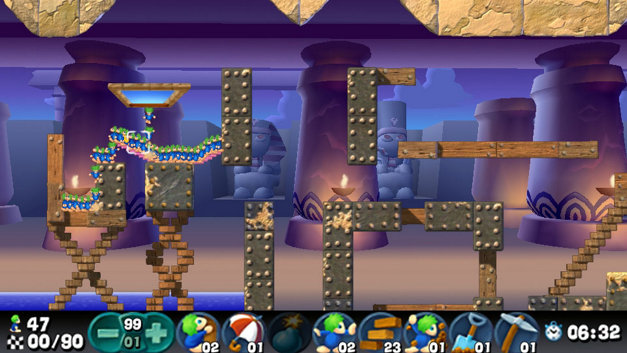 Lemmings Screenshot 4
