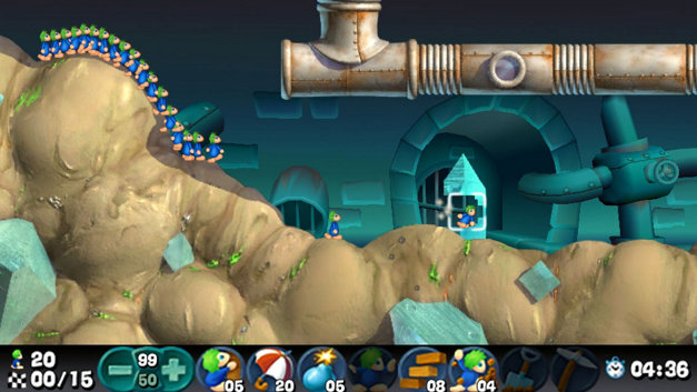 Lemmings Screenshot 7