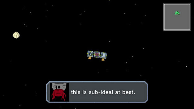 Hermit Crab in Space Screenshot 1