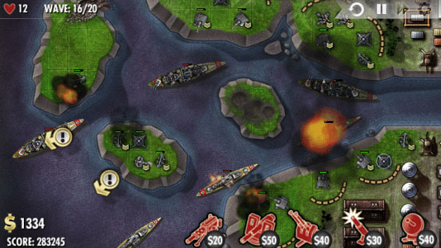 iBomber Defense Screenshot 1