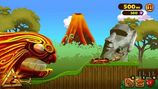 Tiki Rush: Escape from Lava Island Screenshot 2