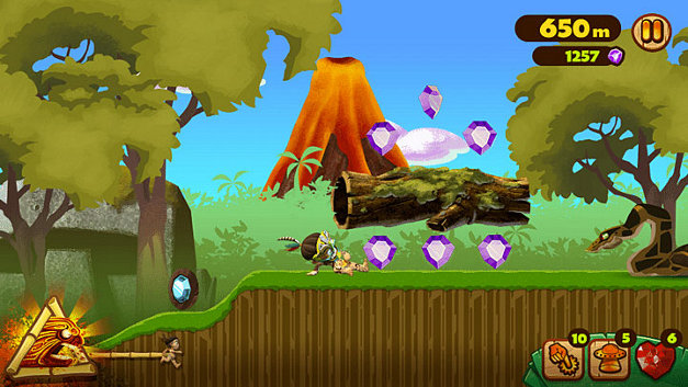 Tiki Rush: Escape from Lava Island Screenshot 4