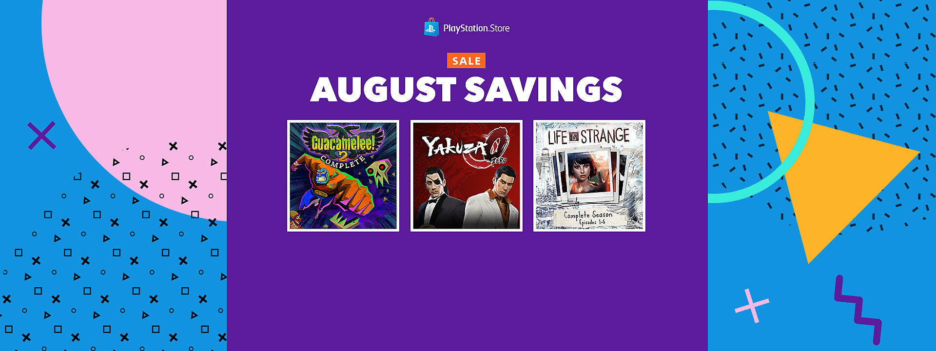 PlayStation Store August Savings Sale - August 20 - September 3