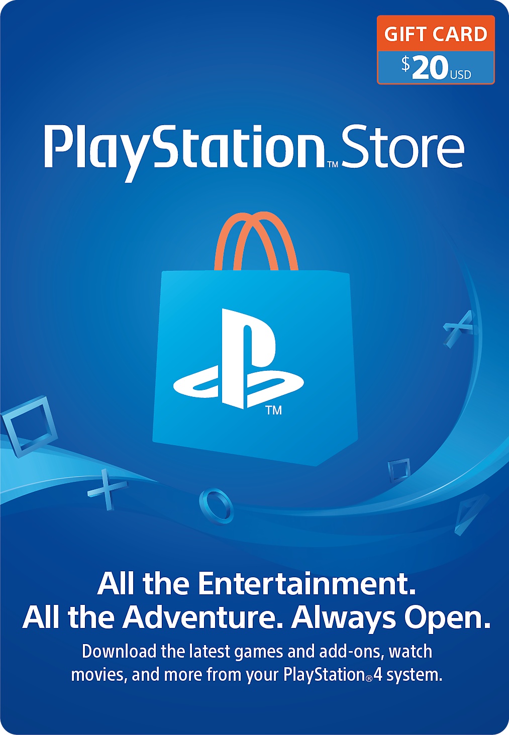 buy a digital card below to download a code redeem it via your playstation network psn account or gift it to a friend - Buy Prepaid Card